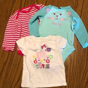 Bundle of Baby Girl Onesies